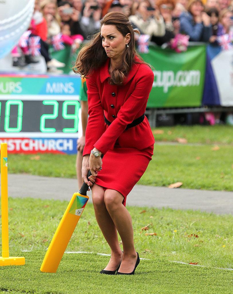 Kate Middleton Batting Style