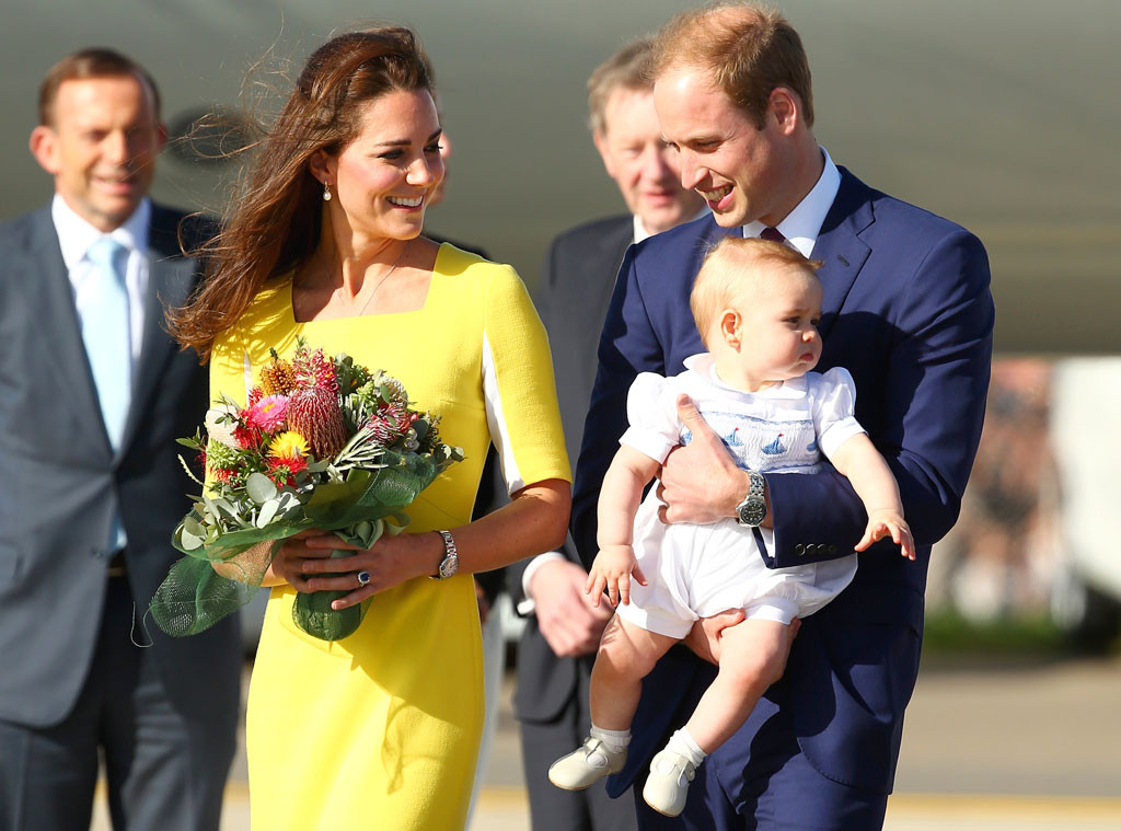 Kate Middleton - Prince William - Prince-George