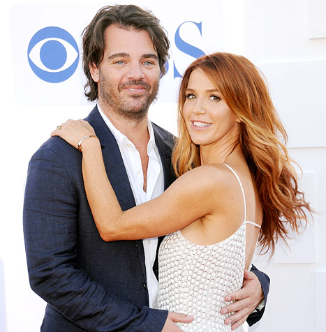 Poppy Montgomery And Shawn Sanford