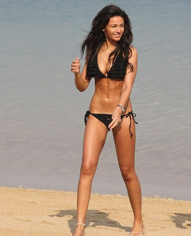 michelle keegan best beach body