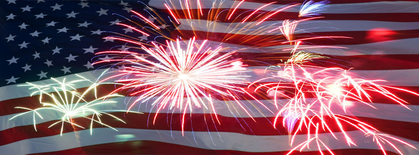 Happy Independence Day Fireworks