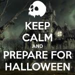 Keep Calm For Halloween