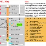 NYC Halloween Parade Route Map