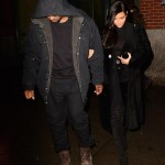 Kim Kardashian & Kanye West Date Night NYC