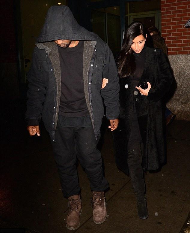 Kim Kardashian & Kanye West Date Night NYC