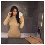 Kim Kardashian Sharing Selfies a Date Night with Kanye West