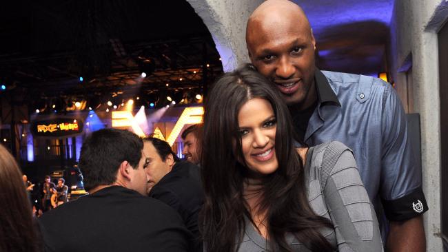 Khloe Kardashian and Lamar Odom's