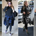Celebs Workout Clothing