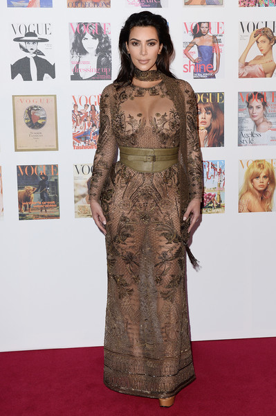 Kim Kardashian at Vogue 100 Festival - Gala - Arrivals